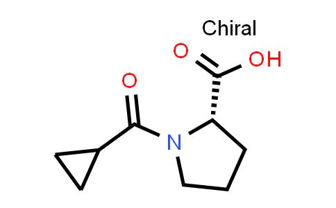 (S)-1-(Cyclopropanecarbonyl)pyrrolidine-2-carboxylic acid
