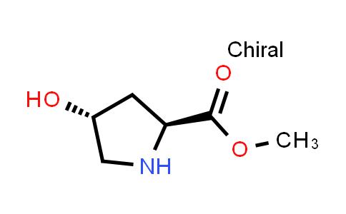 (2S,4R)-Methyl 4-hydroxypyrrolidine-2-carboxylate