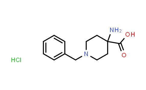 4-Amino-1-benzylpiperidine-4-carboxylic acid hydrochloride