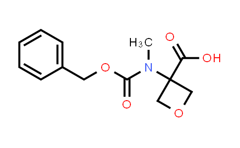 3-(((Benzyloxy)carbonyl)(methyl)amino)oxetane-3-carboxylic acid
