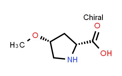 (2R,4R)-4-Methoxypyrrolidine-2-carboxylic acid