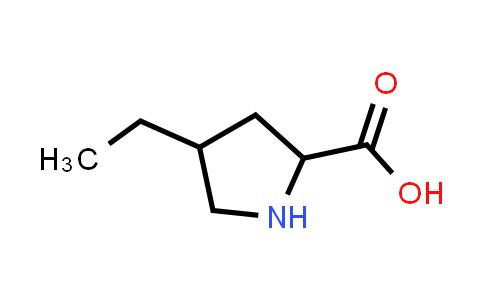 4-Ethylpyrrolidine-2-carboxylic acid