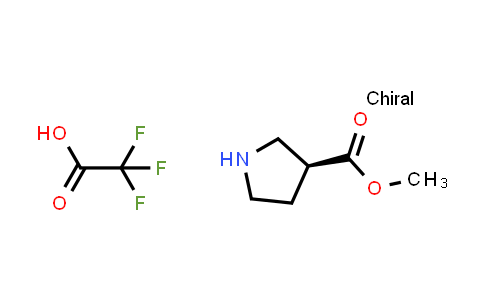 (S)-Methyl pyrrolidine-3-carboxylate 2,2,2-trifluoroacetate