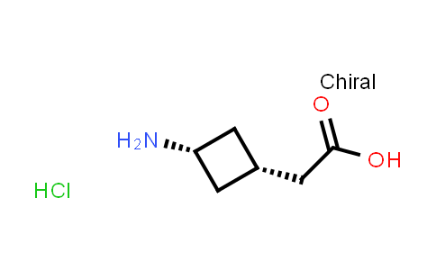 2-(cis-3-Aminocyclobutyl)acetic acid hydrochloride