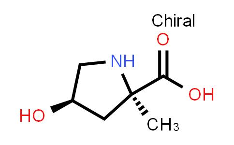 (2R,4R)-4-Hydroxy-2-methylpyrrolidine-2-carboxylic acid