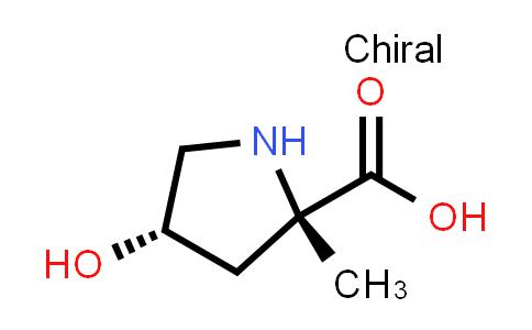 (2S,4S)-4-Hydroxy-2-methylpyrrolidine-2-carboxylic acid