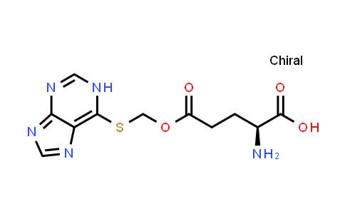 (S)-5-(((1H-Purin-6-yl)thio)methoxy)-2-amino-5-oxopentanoic acid