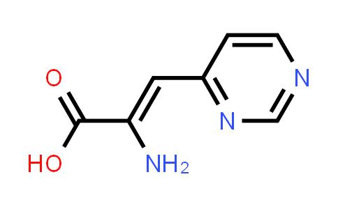 (Z)-2-Amino-3-(pyrimidin-4-yl)acrylic acid