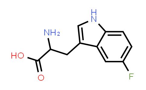 2-Amino-3-(5-fluoro-1H-indol-3-yl)propanoic acid