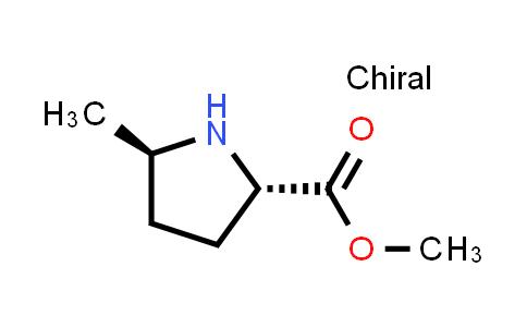 (2S,5R)-Methyl 5-methylpyrrolidine-2-carboxylate