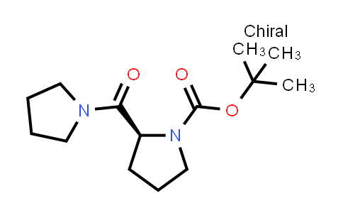 (S)-tert-Butyl 2-(pyrrolidine-1-carbonyl)pyrrolidine-1-carboxylate
