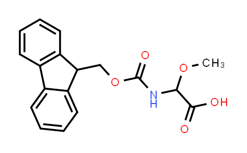 2-((((9H-Fluoren-9-yl)methoxy)carbonyl)amino)-2-methoxyacetic acid