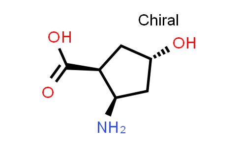 (1S,2R,4S)-2-Amino-4-hydroxycyclopentanecarboxylic acid(relative)