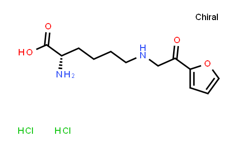 (S)-2-Amino-6-((2-(furan-2-yl)-2-oxoethyl)amino)hexanoic acid dihydrochloride