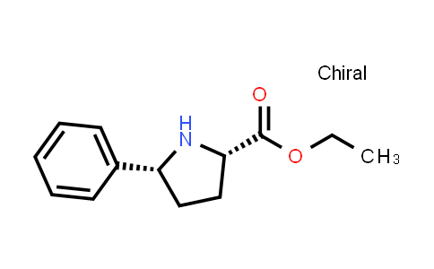 (2S,5R)-Ethyl 5-phenylpyrrolidine-2-carboxylate