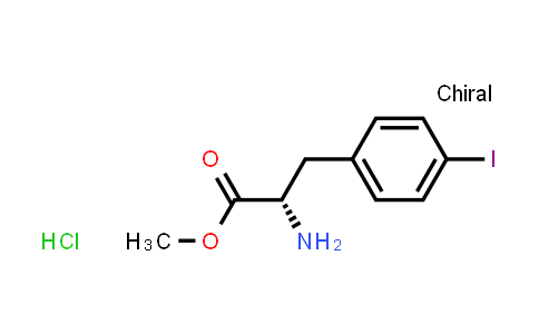 (S)-Methyl 2-amino-3-(4-iodophenyl)propanoate hydrochloride