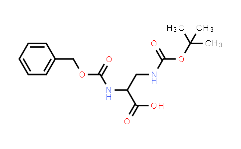 2-(((Benzyloxy)carbonyl)amino)-3-((tert-butoxycarbonyl)amino)propanoic acid