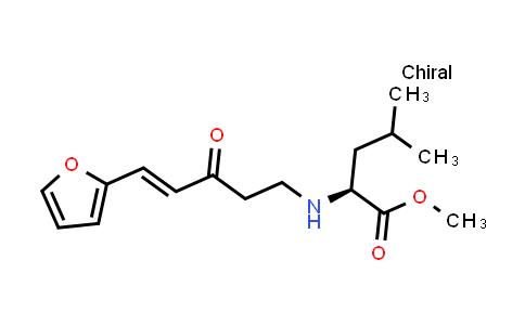 (S,E)-Methyl 2-((5-(furan-2-yl)-3-oxopent-4-en-1-yl)amino)-4-methylpentanoate