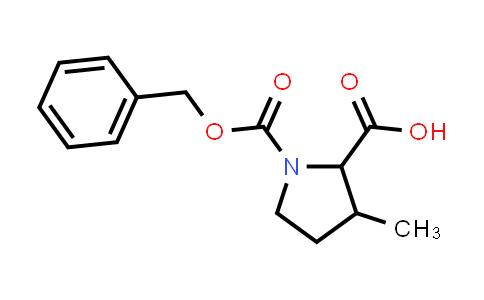 1-((Benzyloxy)carbonyl)-3-methylpyrrolidine-2-carboxylic acid