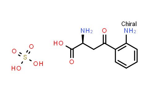 (S)-2-Amino-4-(2-aminophenyl)-4-oxobutanoic acid compound with sulfuric acid (1:1)