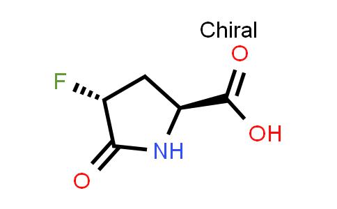(2S,4R)-4-Fluoro-5-oxopyrrolidine-2-carboxylic acid