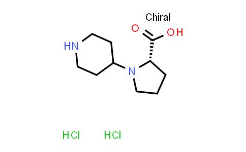 (S)-1-(Piperidin-4-yl)pyrrolidine-2-carboxylic acid dihydrochloride