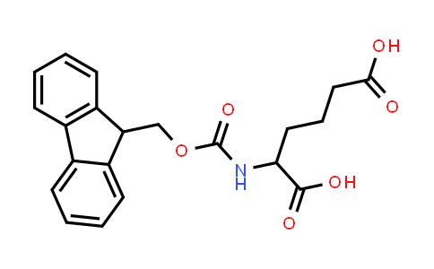 2-((((9H-Fluoren-9-yl)methoxy)carbonyl)amino)hexanedioic acid