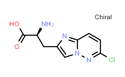 (S)-2-Amino-3-(6-chloroimidazo[1,2-b]pyridazin-2-yl)propanoic acid