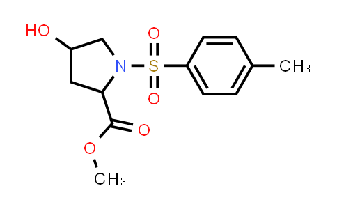 Methyl 4-hydroxy-1-tosylpyrrolidine-2-carboxylate
