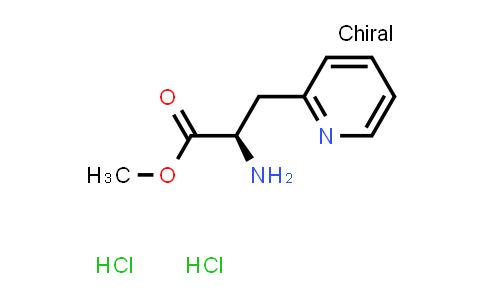 (R)-Methyl 2-amino-3-(pyridin-2-yl)propanoate dihydrochloride