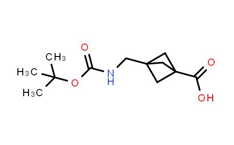 3-(((tert-Butoxycarbonyl)amino)methyl)bicyclo[1.1.1]pentane-1-carboxylic acid