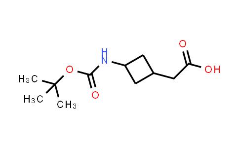 2-(3-((tert-Butoxycarbonyl)amino)cyclobutyl)acetic acid