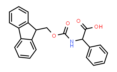 2-((((9H-Fluoren-9-yl)methoxy)carbonyl)amino)-2-phenylacetic acid