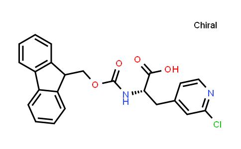 (S)-2-((((9H-Fluoren-9-yl)methoxy)carbonyl)amino)-3-(2-chloropyridin-4-yl)propanoic acid