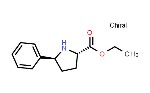 (2S,5S)-Ethyl 5-phenylpyrrolidine-2-carboxylate