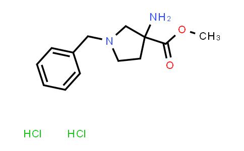 Methyl 3-amino-1-benzylpyrrolidine-3-carboxylate dihydrochloride