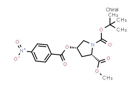 (2S,4S)-1-tert-Butyl 2-methyl 4-((4-nitrobenzoyl)oxy)pyrrolidine-1,2-dicarboxylate