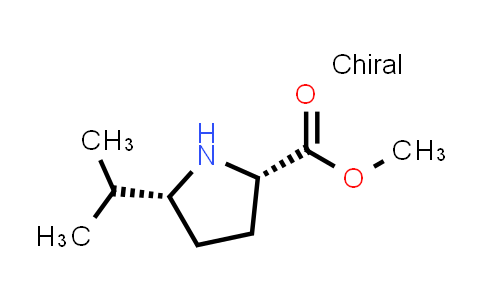 (2S,5R)-Methyl 5-isopropylpyrrolidine-2-carboxylate