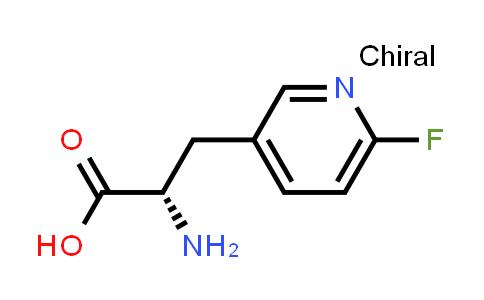 (S)-2-Amino-3-(6-fluoropyridin-3-yl)propanoic acid