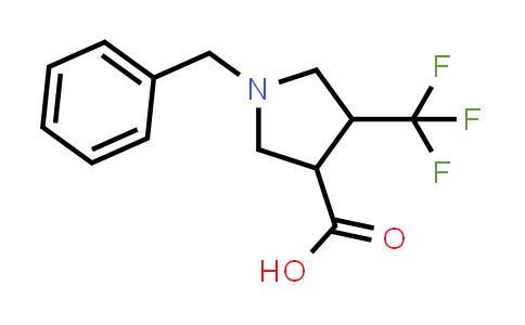 1-Benzyl-4-(trifluoromethyl)pyrrolidine-3-carboxylic acid