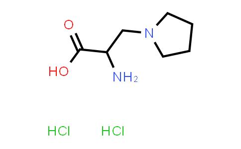 2-Amino-3-(pyrrolidin-1-yl)propanoic acid dihydrochloride