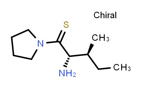 (2S,3S)-2-Amino-3-methyl-1-(pyrrolidin-1-yl)pentane-1-thione