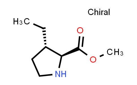 (2S,3S)-Methyl 3-ethylpyrrolidine-2-carboxylate