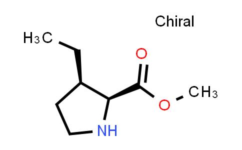 (2S,3R)-Methyl 3-ethylpyrrolidine-2-carboxylate