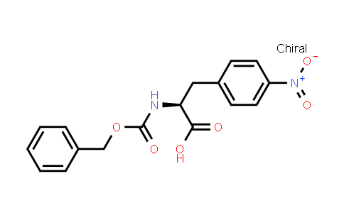 (S)-2-(((Benzyloxy)carbonyl)amino)-3-(4-nitrophenyl)propanoic acid