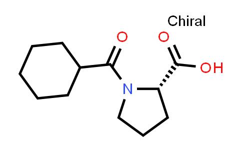 (S)-1-(Cyclohexanecarbonyl)pyrrolidine-2-carboxylic acid