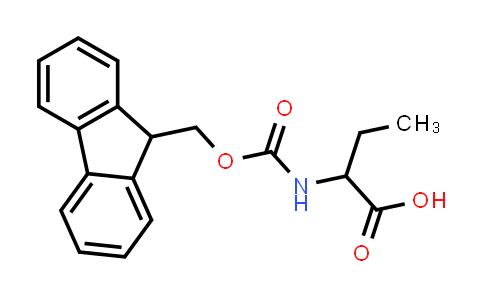 2-((((9H-Fluoren-9-yl)methoxy)carbonyl)amino)butanoic acid