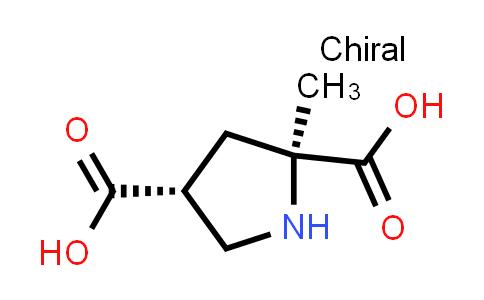 (2S,4R)-2-Methylpyrrolidine-2,4-dicarboxylic acid