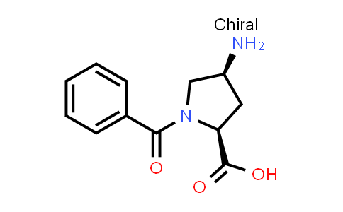 (2S,4S)-4-Amino-1-benzoylpyrrolidine-2-carboxylic acid