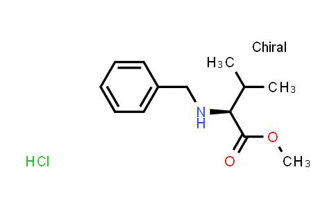 (S)-Methyl 2-(benzylamino)-3-methylbutanoate hydrochloride